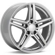 Rial M10 Bright Silver Wheels