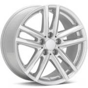Rial X10X Bright Silver Wheels
