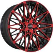 STR 622 Red and Black Wheels