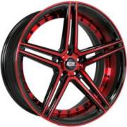STR 620 Black and Red Wheels
