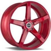 Strada Perfetto Candy Red Wheels
