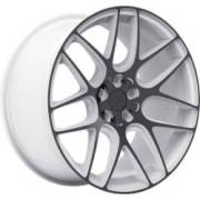 TIS 531WB White and Black Wheels