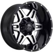 TIS 538MBB Machine Black Wheels