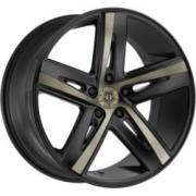 TIS 541BZ Black and Bronze Wheels