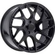 TIS 542B Black Wheels