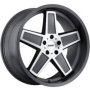 TSW Camber Gunmetal Machined Wheels