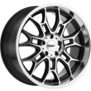 TSW Yas Machine Black Wheels