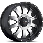 Ultra X105 Machine Black Wheels