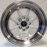 White Diamond 8006 White Wheels