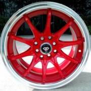 White Diamond 1018 Red Wheels
