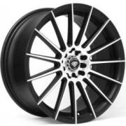 White Diamond WD-3193 Matte Black Machined Wheels