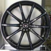 White Diamond 3195 Black Smoke Wheels