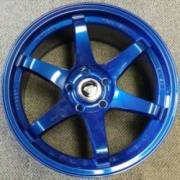 White Diamond 6011 Blue Wheels