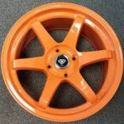 White Diamond 6011 Orange Wheels