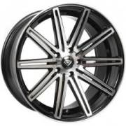 White Diamond 7103 Machined Black Wheels