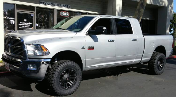 XD Monter Wheels on Dodge Ram 2500