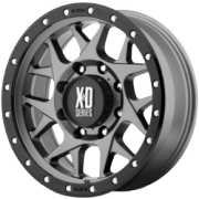 XD Series XD127 Bully Matte Gray Wheels