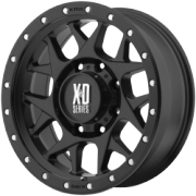 XD Series XD127 Bully Satin Black Wheels