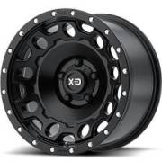 XD129 Holeshot Satin Black Wheels