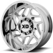 XD Sereis Wheels XD836 Fury Chrome Wheels